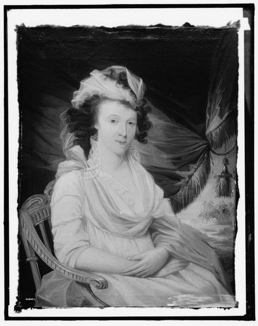 [Portrait of Mrs. Robert Win (Lucretia Tuckerman)]