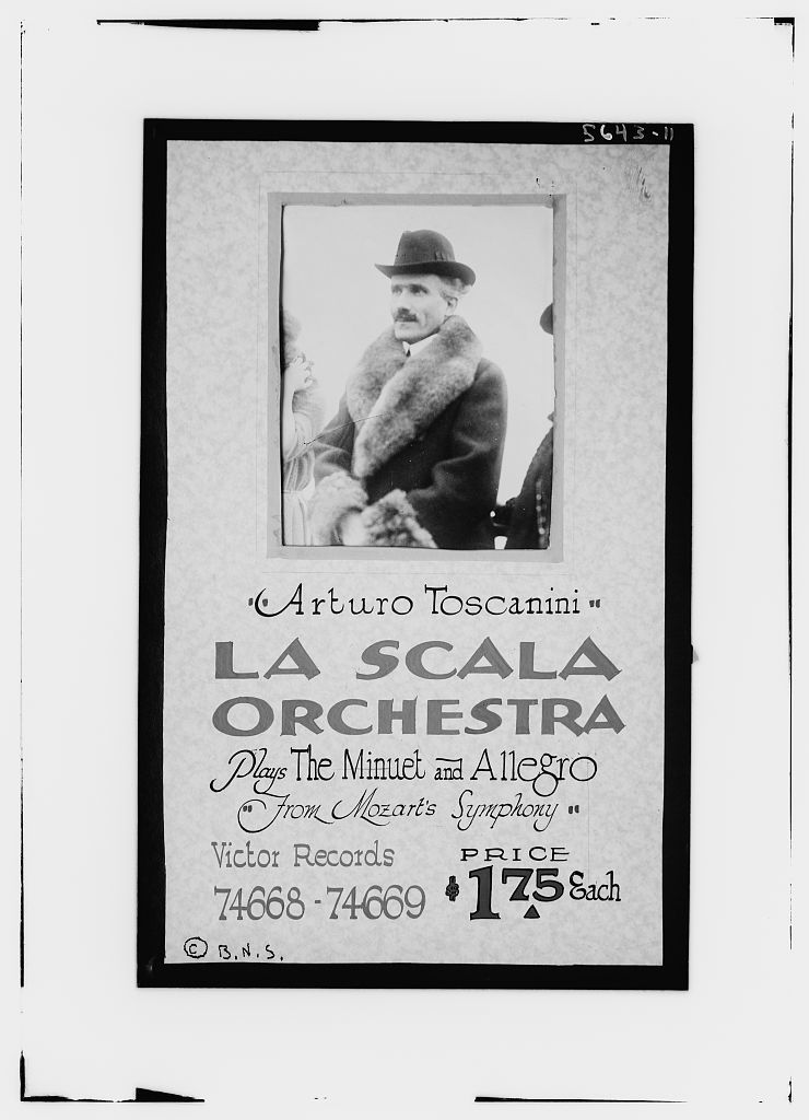 Poster: Toscanini