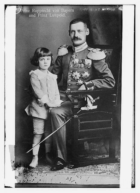 Prince Ruprecht von Bayern and Prince Luitpold