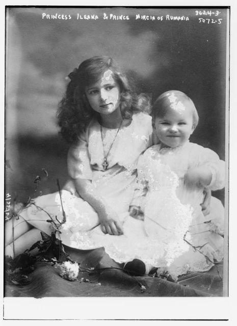 Princess Ileaka & Prince Mircia of Rumania