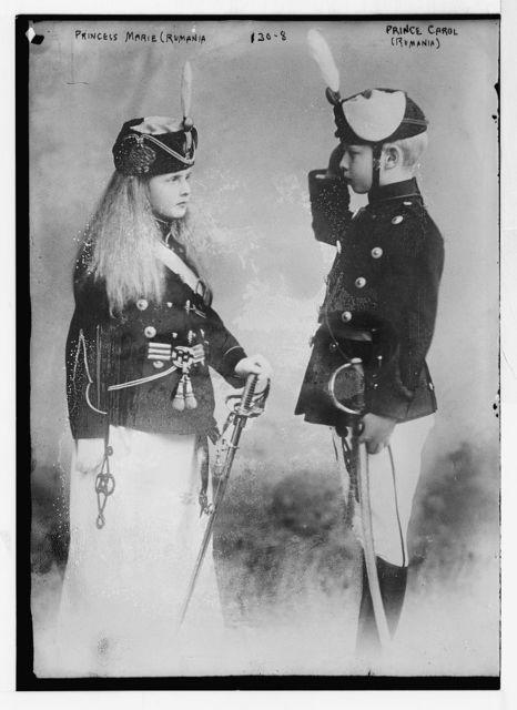 Princess Marie (Rumania) and Prince Carol (Rumania)