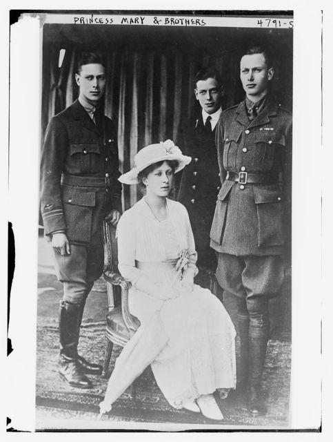 Princess Mary & Brothers