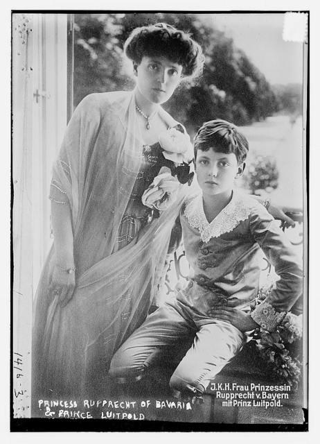 Princess Ruprecht of Bavaria & Prince Luitpold