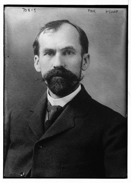 Prof. Hyslop, portr.