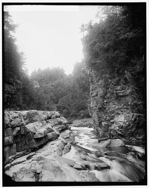 Pulpit Rock, Ausable Chasm
