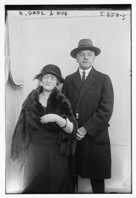 R. Ganz and wife