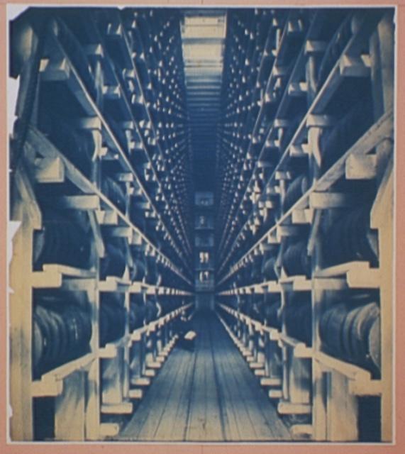 Rack warehouse, Hiram Walker & Sons, Walkerville, Ont.
