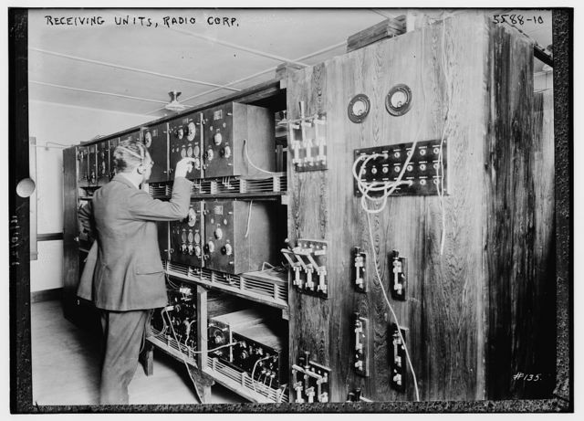 Radio corps -- receiving units