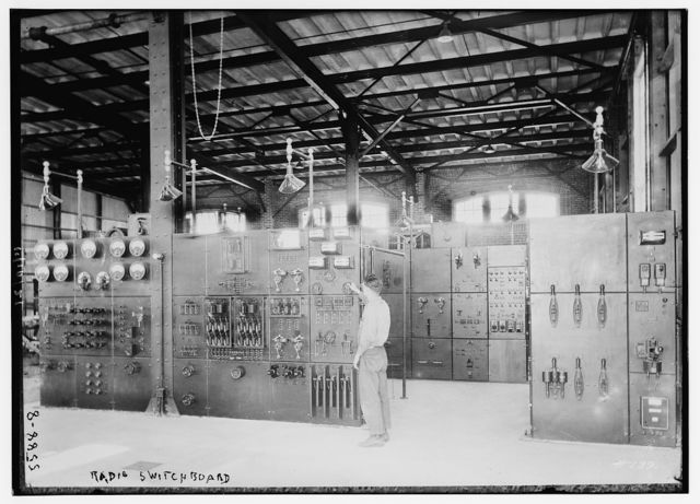 Radio switchboard