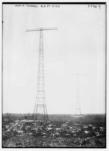 Radio towers -- 410' high