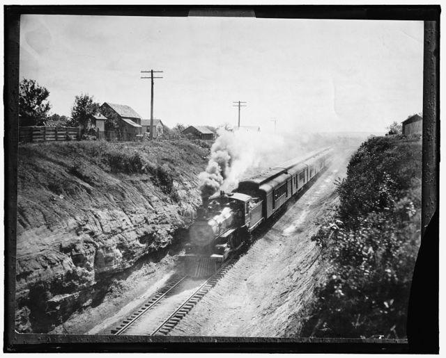 [Railroad train]