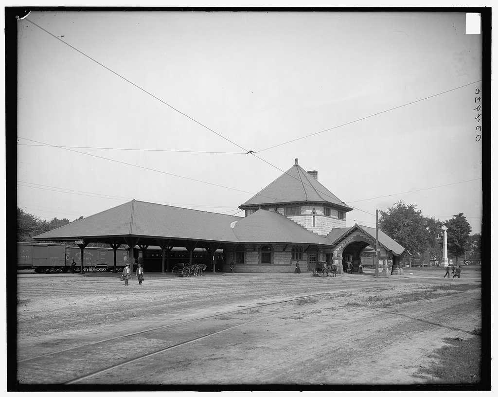 Railway station, Laconia, N.H.