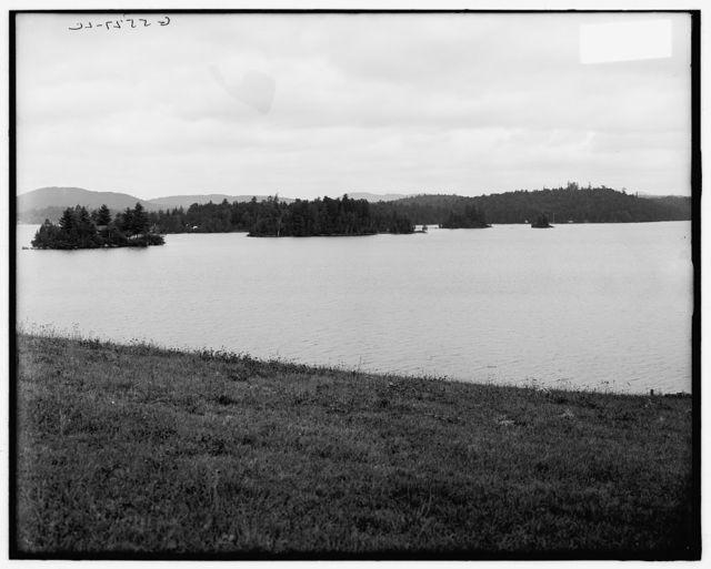 [Raquette Lake from the Antlers, Adirondacks, N.Y.]