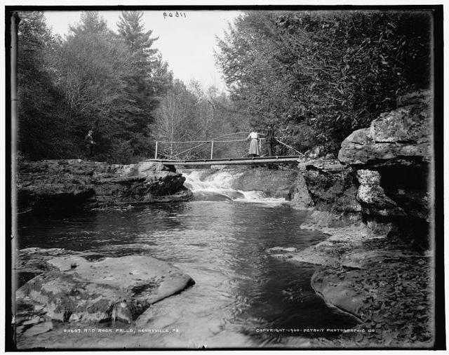 Red Rock Falls, Henryville, Pa.