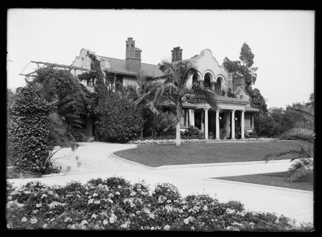 [Residence of Gen. Otis, Los Angeles, Cal.]