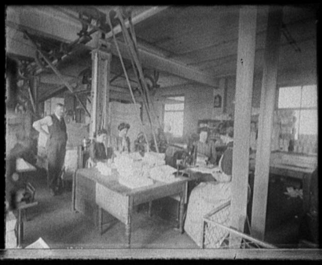 [Richmond & Backus Co. bindery, Detroit]