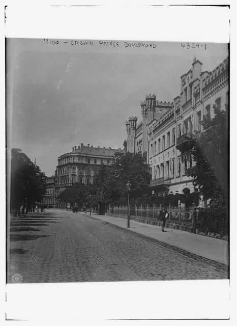 Riga -- Crown Prince Boulevard