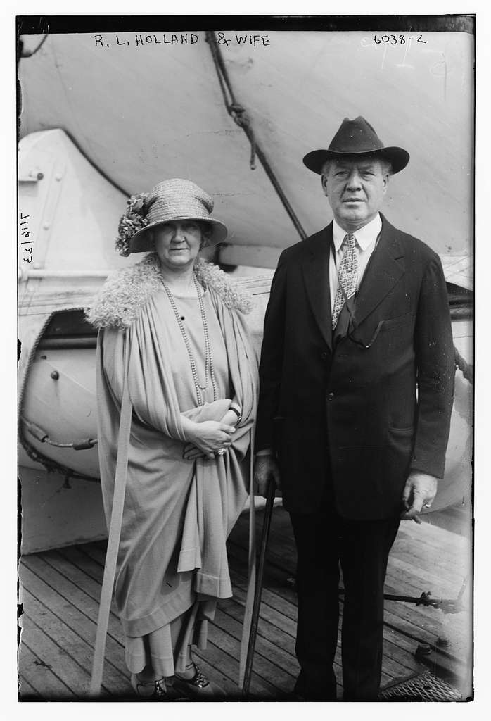 R.L. Holland & wife