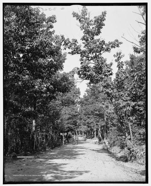Road to High Rock, Pen Mar Park, Md.
