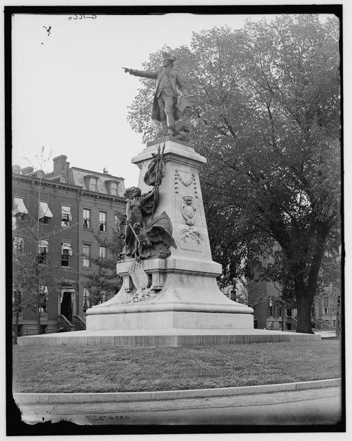[Rochambeau statue, Lafayette Park (Square), Washington, D.C.]