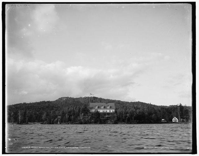 Rocky Point Inn, Fulton Chain, Adirondack Mountains