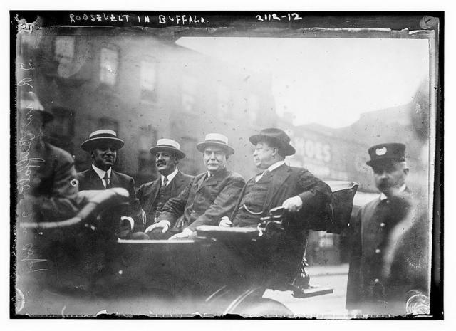 Roosevelt in Buffalo