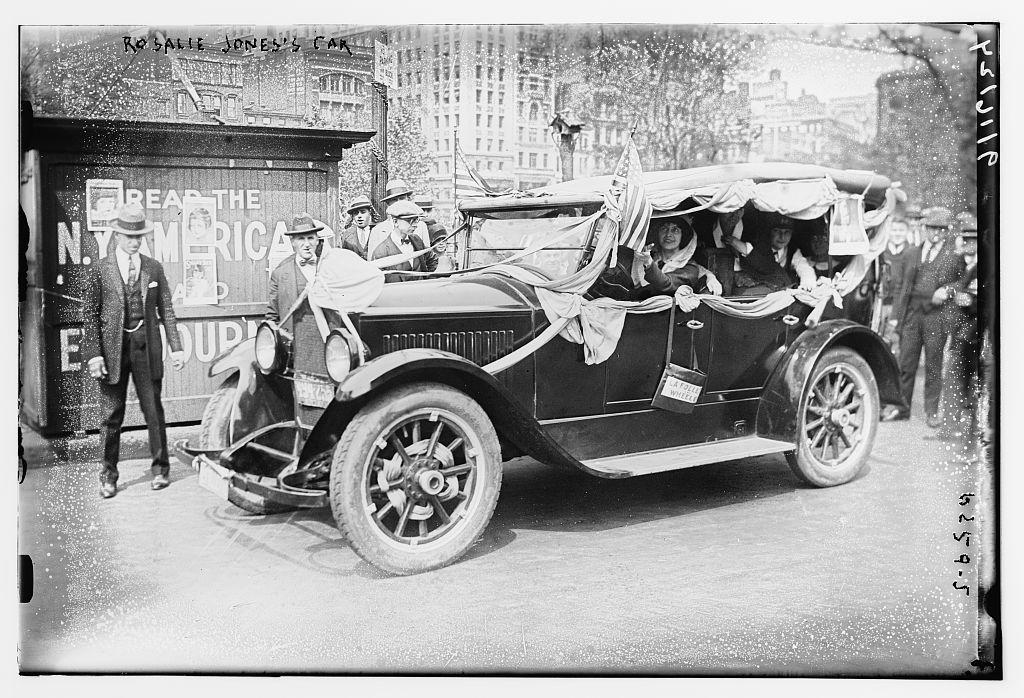 Rosalie Jones' car