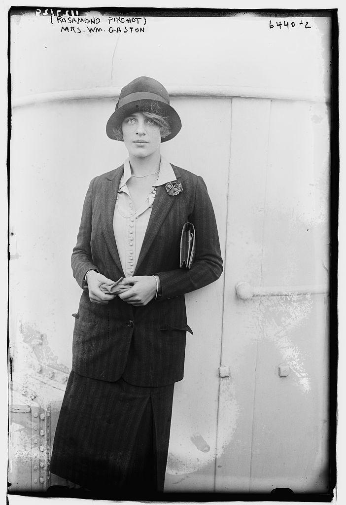 Rosamond Pinchot, Mrs. Wm. Gaston