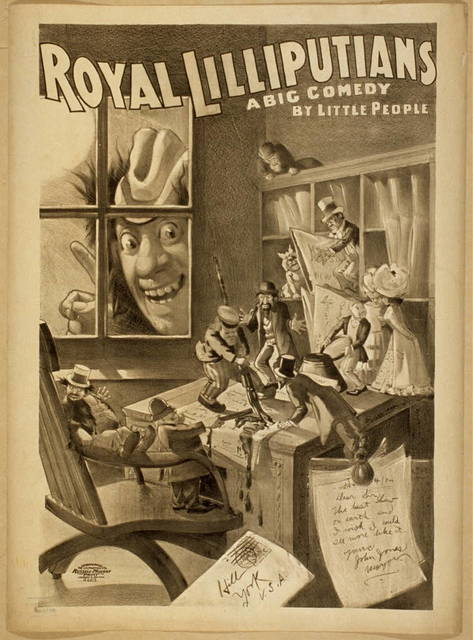 Royal Lilliputians a big comedy by little people.