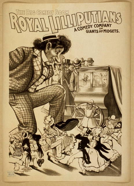 Royal Lilliputians the big comedy boom : a comedy company of giants and midgets.