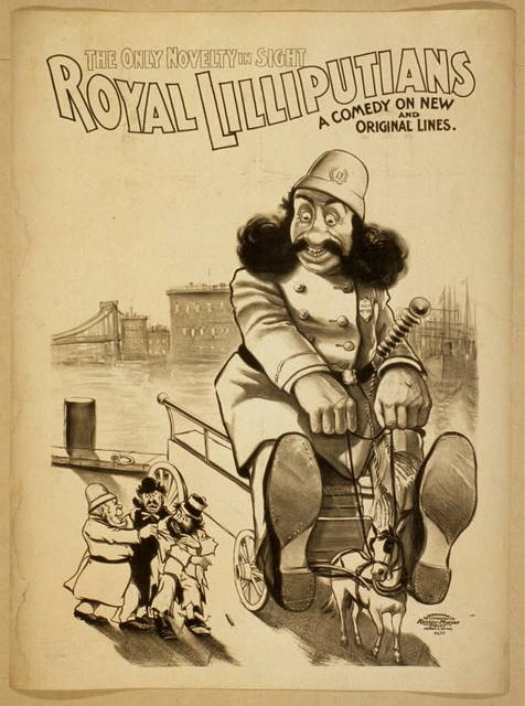 Royal Lilliputians the only novelty in sight : a comedy on new and original lines.