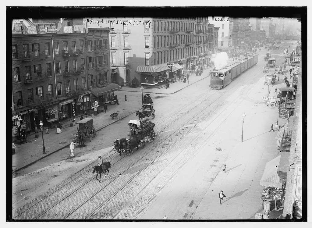 R.R. Railroad on 11th Ave., N. Y. City