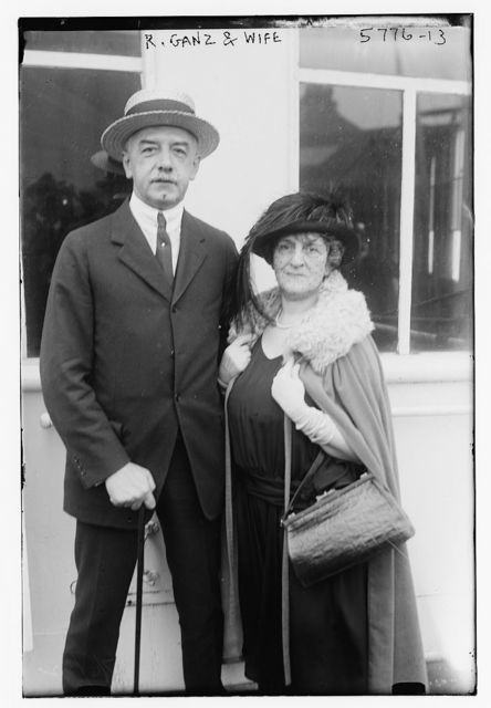 Rudolph Ganz and wife