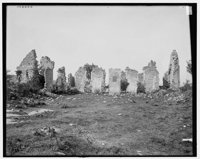 [Ruins of Fort Ticonderoga, Lake Champlain, N.Y.]
