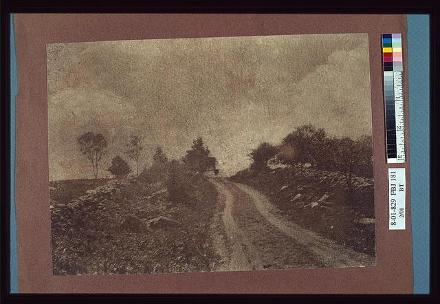 [Rural landscape with a country road]