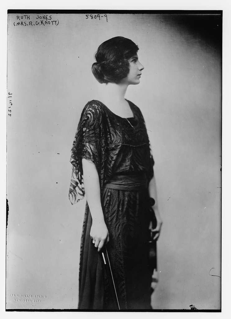 Ruth Jones (Mrs. R.G. Knott)