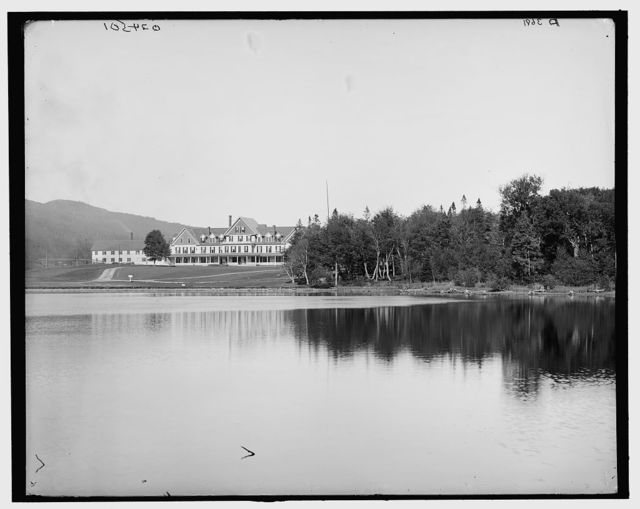 [Saco Lake & Crawford House, White Mtns, N.H.]