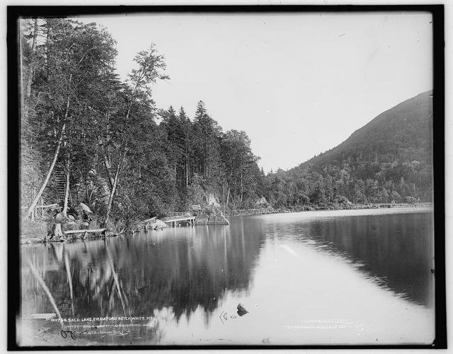 Saco Lake, Crawford Notch, White Mts.