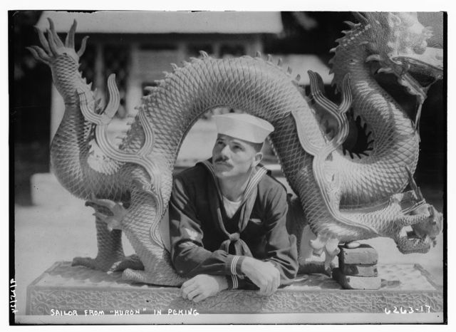 Sailor from HURON in Peking