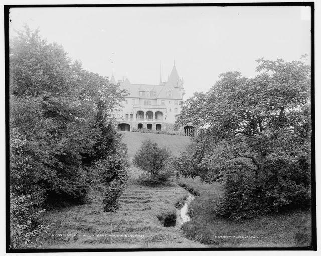 Schell [Chateau] villa, East Northfield, Mass.