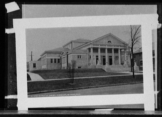 Second Church of Christ, Scientist, Detroit, Mich.