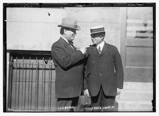 Sen. Borah and Frank Londen