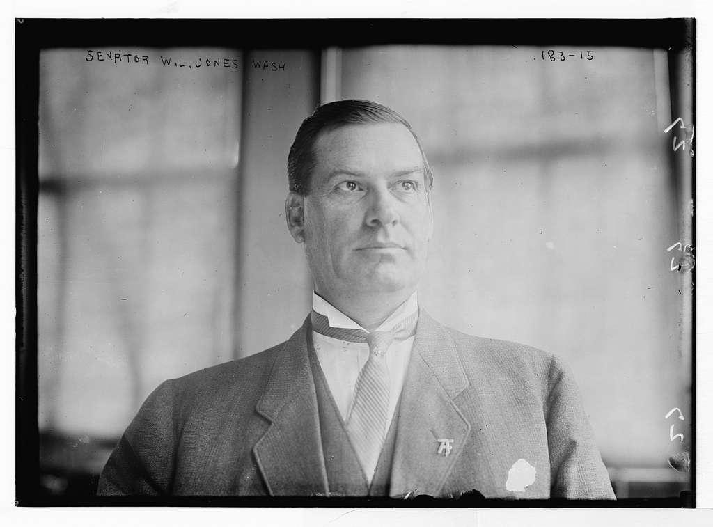 Senator W.L. Jones, Washington, D.C