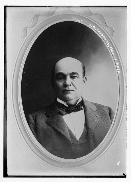 S.G. Cosgrove, Gov. of Washington, cameo portr.