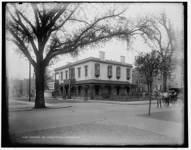 Sherman's old headquarters, Savannah, Ga.