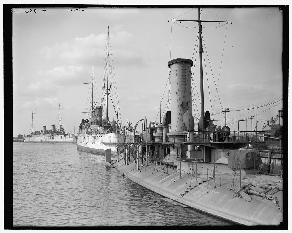 [Ships at League Island Navy Yard, Philadelphia, Pa.]