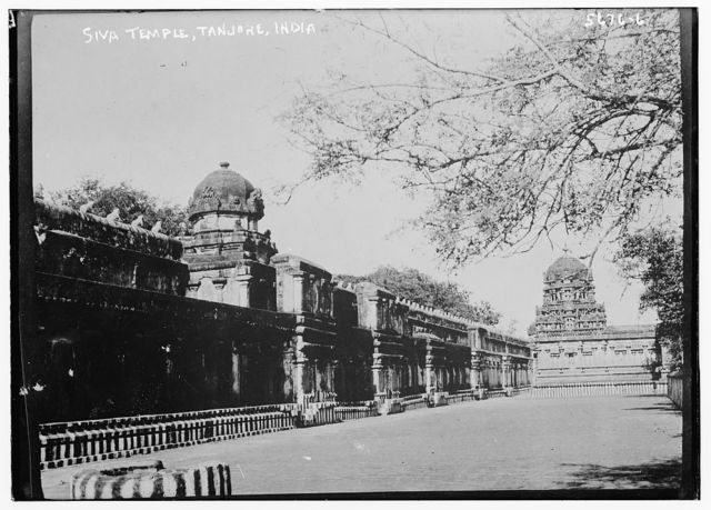 Shiva Temple, Tanjore, India