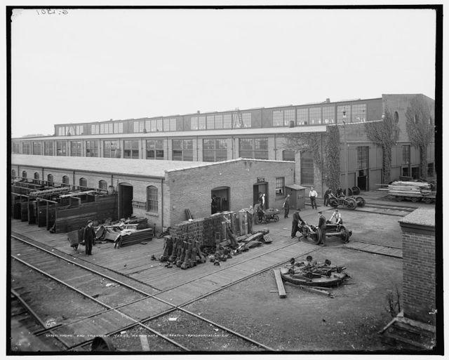 Shops and transfer yards, Merchants Despatch Transportation Co.