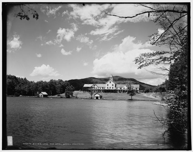 Silver Lake and hotel, Green Mountains