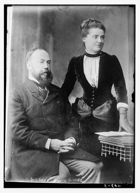 Sir Chas. Dilke and wife